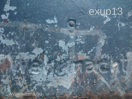 """1943 dated 20 Litre German fuel can (""""Jerry Can"""") by MIAG."""