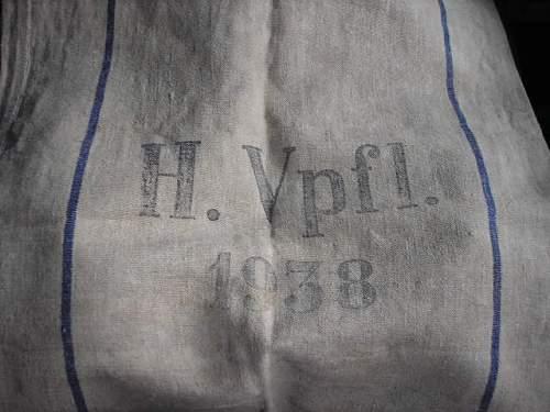 German grain sack