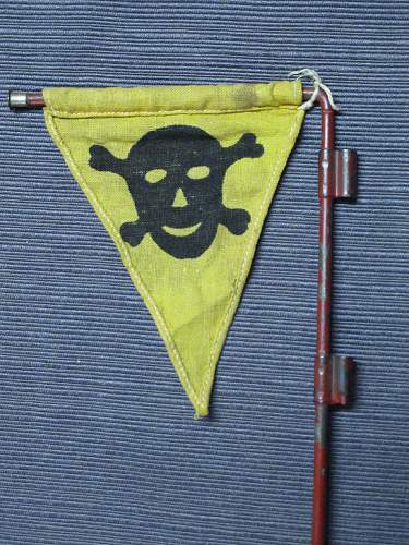 Mine/Gas Flag