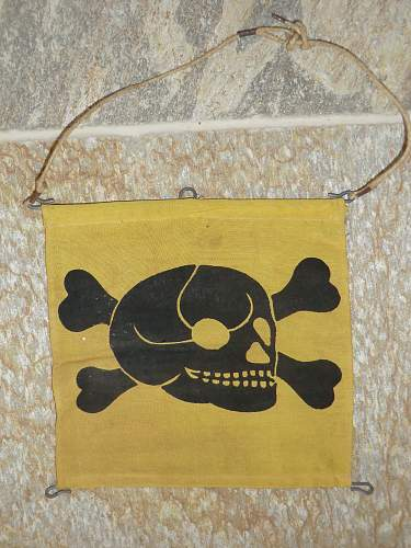 Mine/Gas Flag
