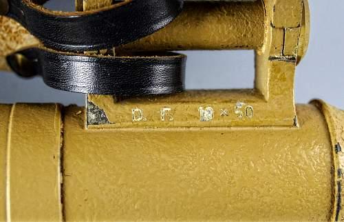 bmj DF 10x 50 Field Glasses