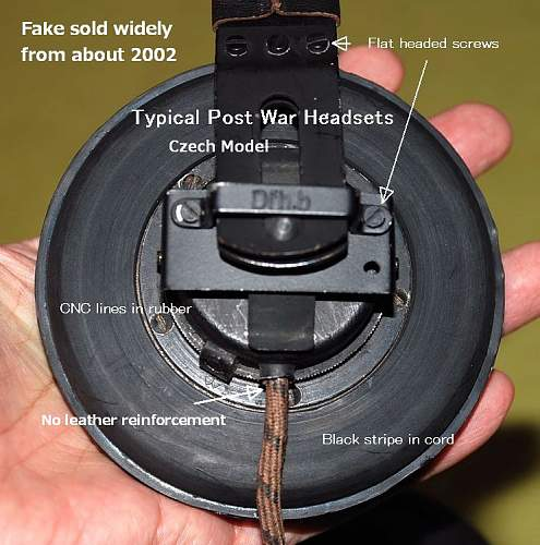 The Evolution of Headsets and Throat mikes for Panzers (1935-1945)