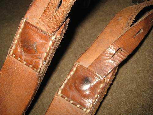Are These Y-Straps Original WWII German Y-Straps?
