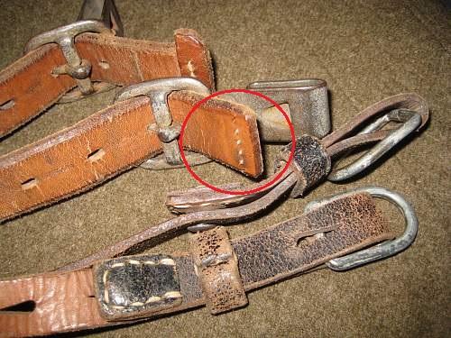 Are These Y-Straps Original WWII German Y-Straps?