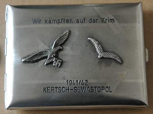 Luftwaffe Cigarette Case