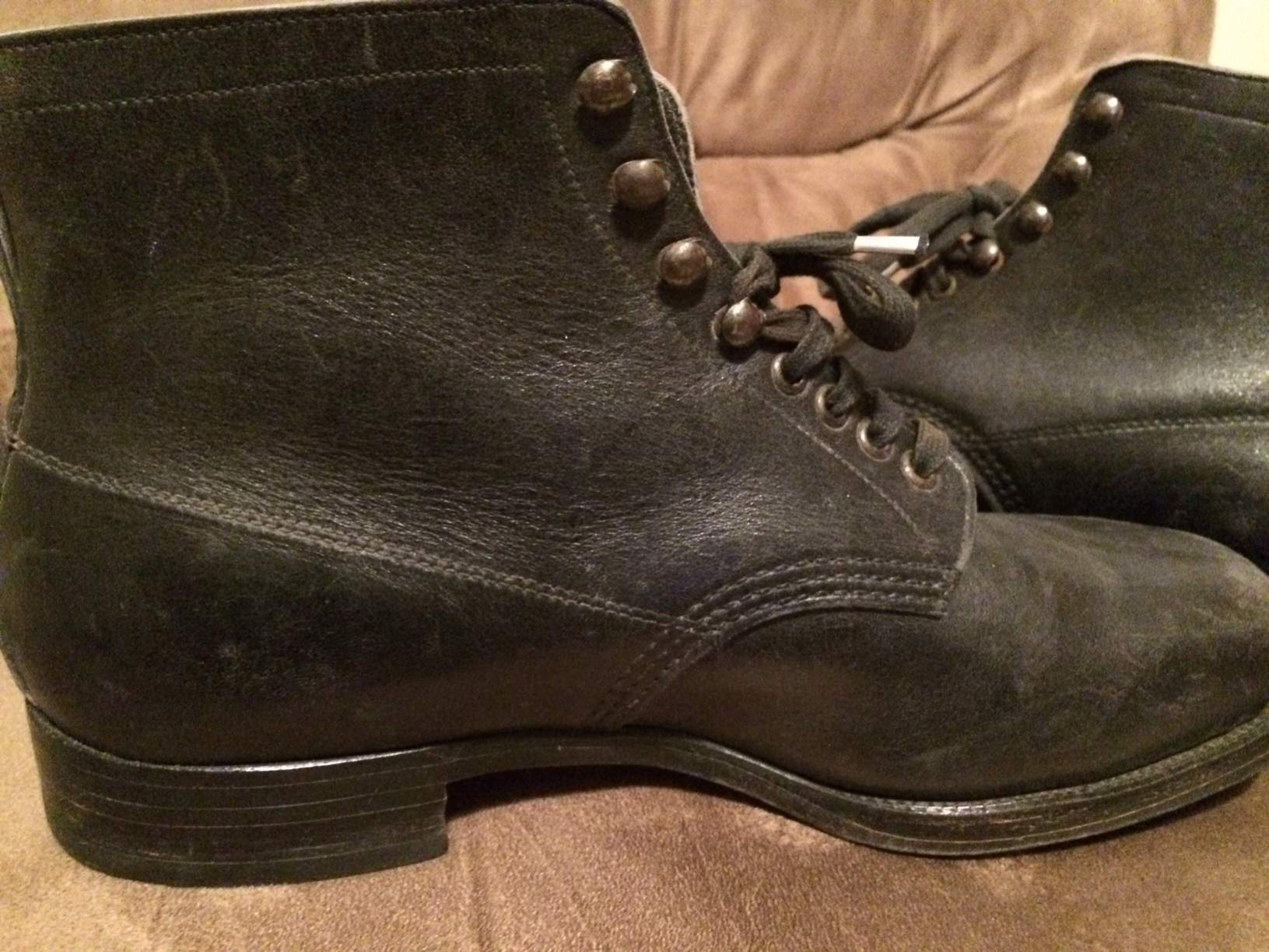 Question WW2 German Ankle Boots