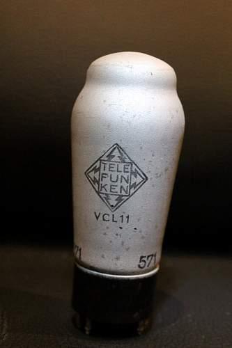 Wehrmacht Vacuum Tubes