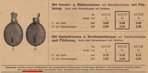 Allgemeine SS Canteen?  1935 vintage?