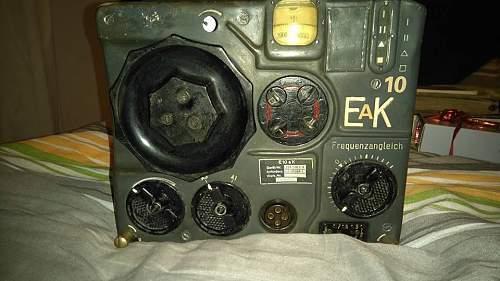 Luftwaffe 10EaK Receiver