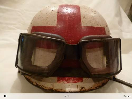 Motor cycle goggles