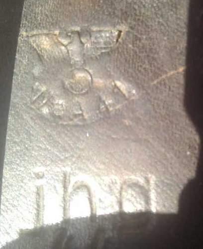 Nazi p38 holster