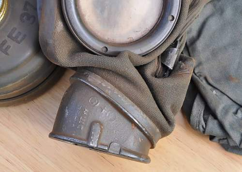 Gas Mask and Canister Markings