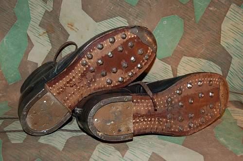 WW2 Hilter Jugend shoes