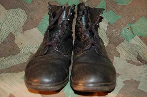 WW2 German Wehrmacht ankle boots