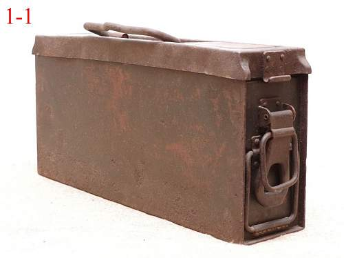 Ammo box for Mg