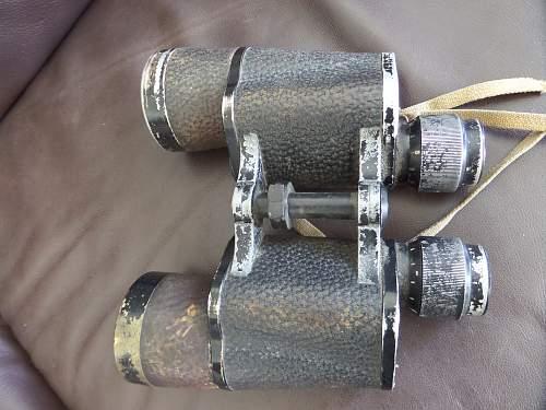 Fea market German Navy Binoculars