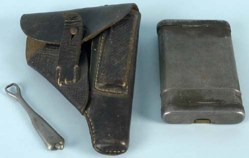 Unknown Pistol Holster + Cleaning Kit ?