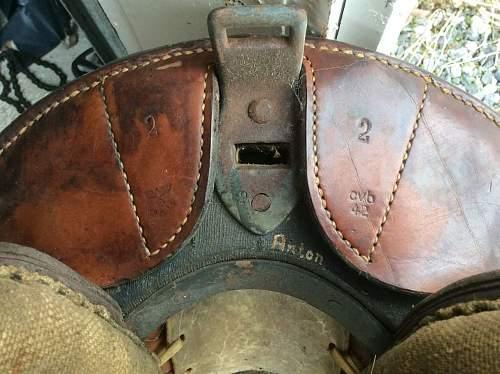 German saddle 2ww