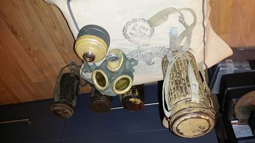 Tropical gasmask-can straps...did they actually used these?