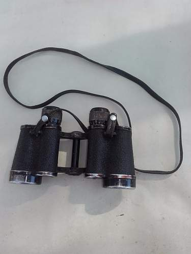 German WW2 Binoculars (?)