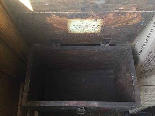 7.92 Platzpatrone Ammo Box 1941