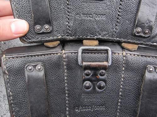 Nice matching K98 pouch set