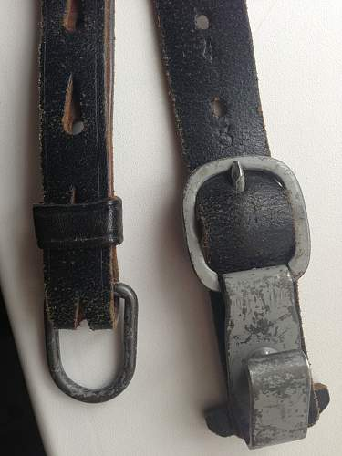 Y-strap for opinions.