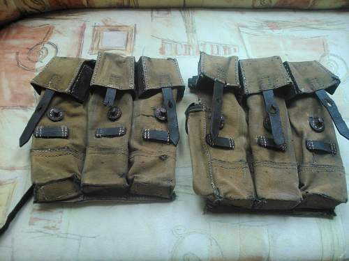 MP44 ammo pouches, original or not?