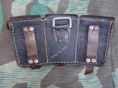 German ammunition pocket