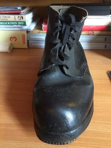 Wehrmacht ankle boots