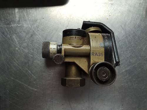 German mortar sight RA.35