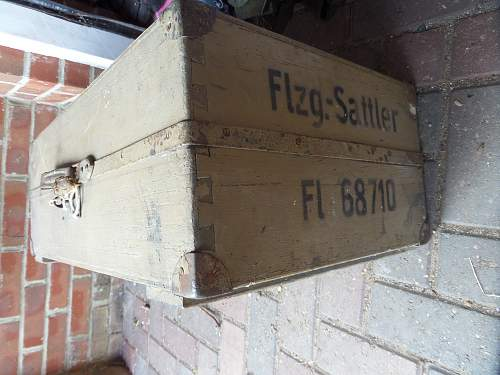 Unknown Luftwaffe tool box