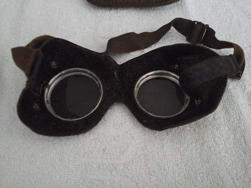 German Dust-Goggles w/Pouch