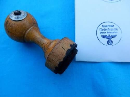 Wooden Based Ink Stamp