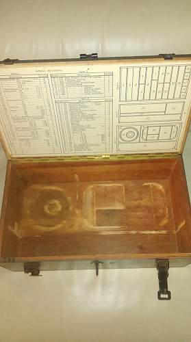 Box For Replacement Parts For Argus AS 10 Aircraft Engine?
