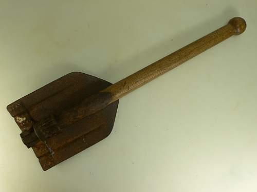 Folding Shovel on EBay