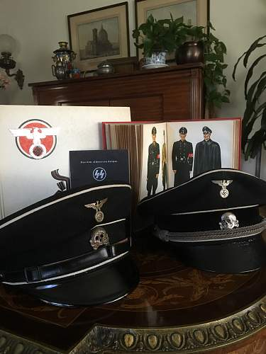 HJ and SS Black canteen covers