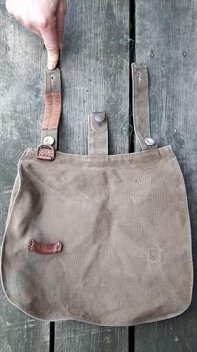 original Sturmabteilung 1934 bread bag stamped Gruppe Sudwest (?) Standarte 476