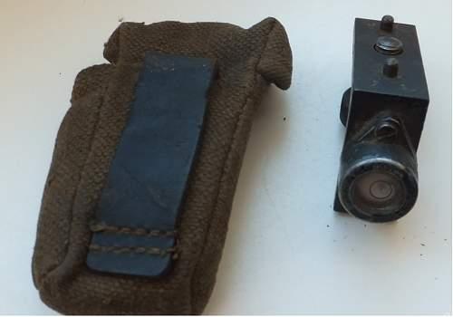 Sniper scope equipment?