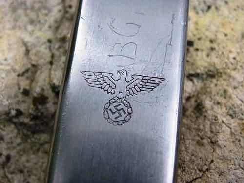 Wehrmacht Soldier's 4 piece Utensil Set