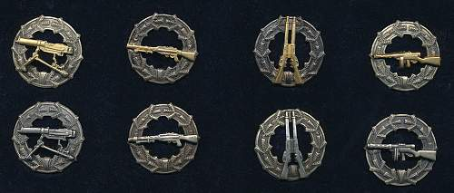 Finnish shooting badges (Ampumamerkit) M/33