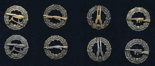 Finnish shooting badges (Ampumamerkit) M/33