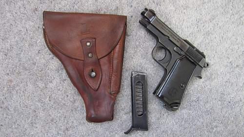 Finnish marked M34 Beretta pistol!!