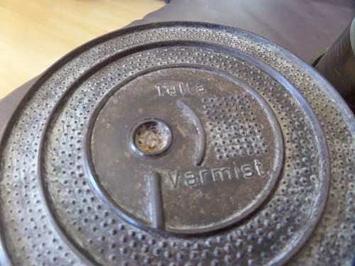 Rare Finnish Army ww2 mines