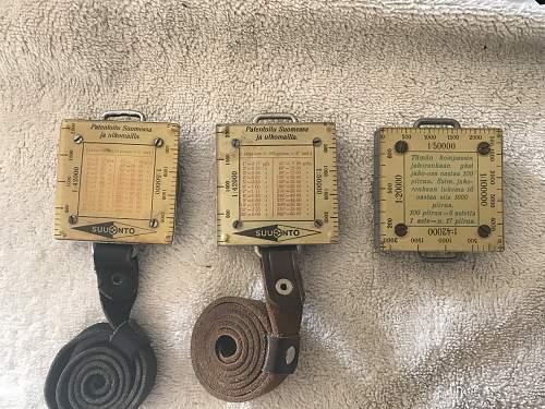 Suunto/Physica compass questions