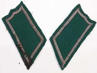 Finnish collar tabs and medical box