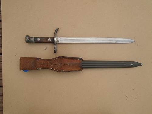 Finnish bayonet collection