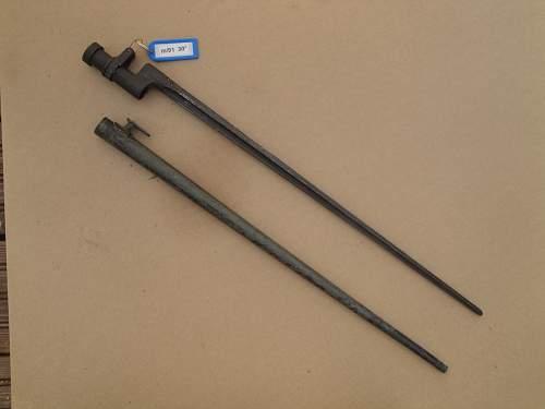 Finnish bayonet collection