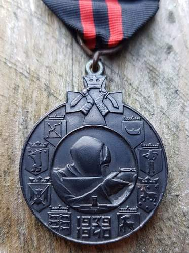 Winter War medal for Foreigners