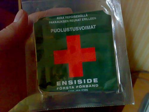 A little birthday present: first aid pack